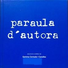 """Foto: portada del llibre """"Paraula d'autora"""", de la Secció Igualtat UPC"""