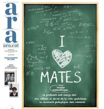 """""""I love Mates"""": Dossier especial sobre matemàtiques al diari ARA del 10 de juliol"""