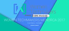 L'estudiant del CFIS Iris Balcázar participarà a la Women Techmakers Menorca 2017