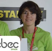 L'estudiant del CFIS Maria Guasch, a la fase final de l'EBEC