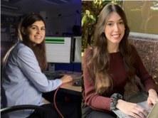 Foto: La Vanguardia. (D'esquerra a dreta: Maria Bauzà i Mireia Hernández)