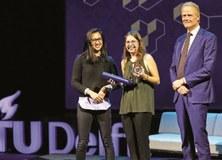 Marta Pita, titulada CFIS, guanya el premi Jong Talent Prijz-Young Talent Award 2019