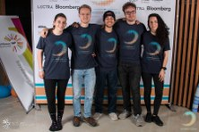 Éxito de estudiantes del CFIS en la HackBordeaux