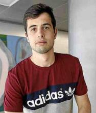 Juan José Garau, estudiante del CFIS, entrevistado en el diario Islas Baleares